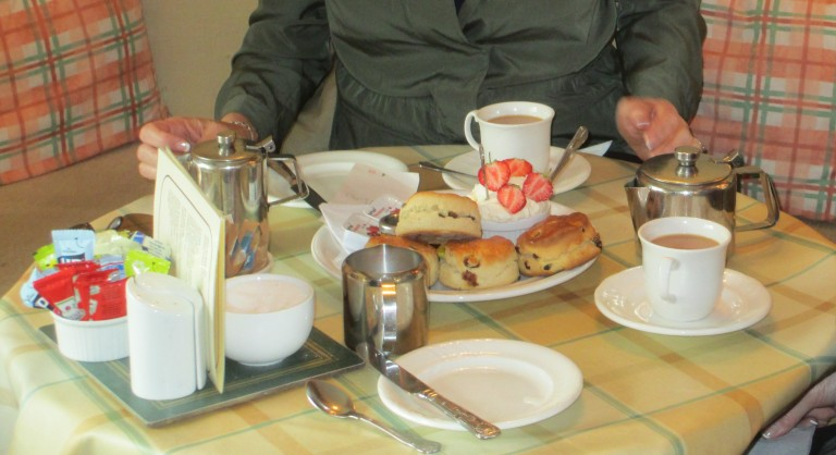 scones at Kettlewell